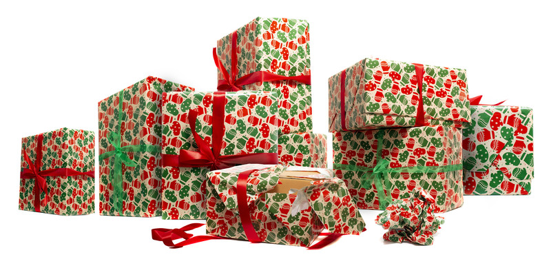 Beautifully Wrapped Presents