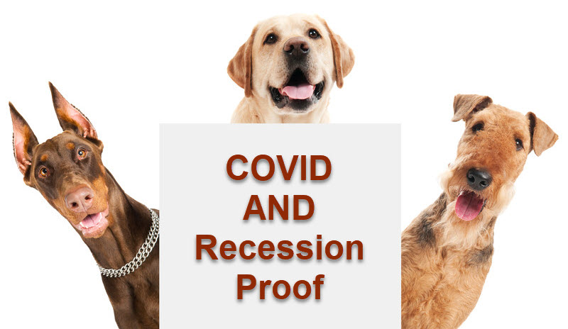 Text Box: COVID and  Recession  Proof!